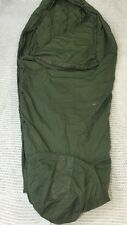 TENNIER INDUSTRIES Military Modular Sleeping Bag Patrol Green Hooded Good Cond.