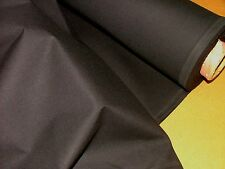 12m Black Woven Calico Fabric Ideal for Backdrop Use