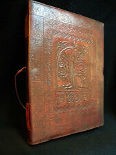 Druid TREE of LIFE Pagan Wicca Handmade Leather ALTAR BOOK Book-of-Shadows
