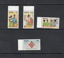 A126  Kenya 1994  FAMILY YEAR   4v.     MNH