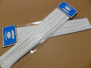 Jean Claude Pipe Cleaners For Vintage Pipes - White - 30 CM - New - 010085