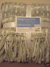 """Living Quarter Basket Weave Throw 50""""x60"""" New in Pack"""