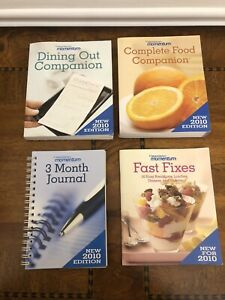 Weight Watchers Momentum Kit  Journal Food Dining Out Companion Fast Fixes 2010