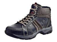 Bugatti Tex Stiefel Leder Boots Herrenschuhe schwarz 40 - 46 F2154-13 Neu3