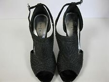 Womens WHITE HOUSE BLACK MARKET dunham black high heel shoes. 9.5