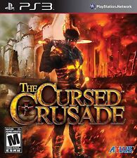 The Cursed Crusade PS3 - LN - Game Disc Only