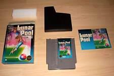 Nintendo NES juego Game módulo-lunar pool (billar) con funda