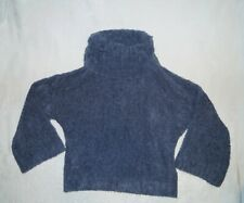 Express Super Soft & Cozy Chunky Turtleneck Sweater w/ Wide Sleeves -Blue - XS