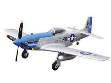 RC Flugzeug Motorflugzeug P-51D blue PNP 4 Kanal SW 75 cm NEU