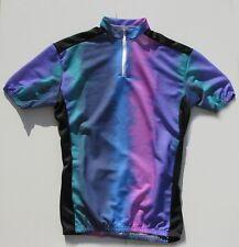 Ensemble cycliste maillot et cuissard vintage des années 70 - Taille M - France
