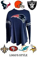 NFL Women's T-Shirts - Multiple Teams & Styles Available!