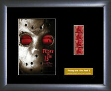 Friday the 13th Part 2 Film Cell memorabilia Numbered Limited Edition