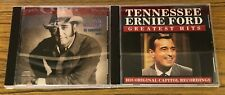 Don Williams 20 Greatest Hits & Tennessee Ernie Ford Greatest Hits 2 CD Lot