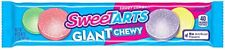 Wonka Giant Chewy Sweetarts, tangy sweet and sour candies (American Candy)