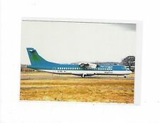 Aer Lingus Regional airlines ATR 72 at Glasgow airport cont/l  postcard