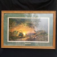 "TERRY REDLIN ""SUNSET HARVEST"" HAND-NUMBERED 08948 EMBOSSED SIGNATURE COA"