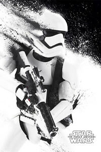 Poster Star Wars 7 The Force Awakens Stormtrooper Trooper Clone 61x91 CM Kino