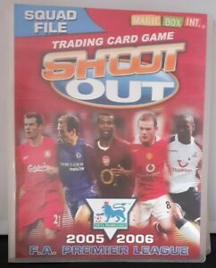 Shoot Out FA Premier League 2005 2006 Complete Set And Binder