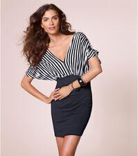 Vestido mujer manga corta efecto doble mujer - 145054