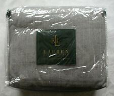NEW Ralph Lauren Speed and Style Duvet Full / Queen Gray Pinstripe