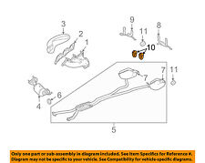 Cadillac GM OEM 05-11 STS 3.6L-V6 Exhaust-Front Insulator 25711603