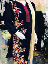micro velvet kurti medium and large size embroidered winter 2019 new design