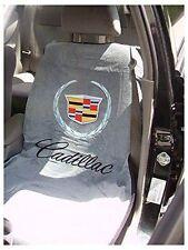 2010-2017 Cadillac Logo Gray Seat Cover Seat Armour Towel New ATS CTS Escalade