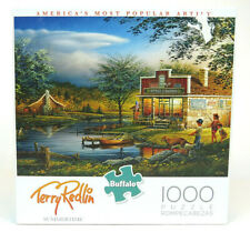 """Buffalo Games 1000 Piece Jigsaw Puzzle """"Summertime"""" By Terry Redlin"""