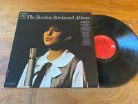 Vintage Vinyl 1963 The Barbara Streisand Album LP Columbia CL 2007 mono VG+ cond