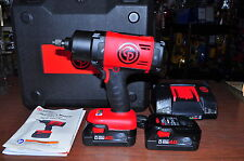 "New ! 20V 1/2""Drive Cordless Impact Wrench Kit 2 LIi-Ion 4A Batteries,CP 8848K ."