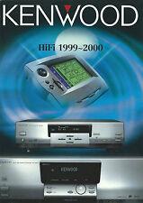 Kenwood Katalog Prospekt '99/2000 DVF-9010 KRF-X9992D DMF-9020 DPF-J9010 KA7090R