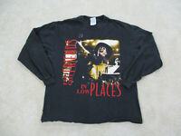 Vintage 90s Garth Brooks Fresh Horses Tour Shirt Large Concert 1996 Country Music Friends in Low Places Tee