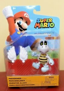 Super Mario 4 Inch  Figure - Parabones with Wings BRAND NEW and SEALED