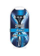 NEW Genuine Wilkinson Sword Xtreme 3 Flexible Blade Flex System Shaving Razor