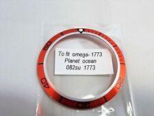 Inserto ghiera Omega Planet Ocean 42 mm orange Bezel aftermarket parts watch