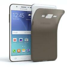Schutz Hülle für Samsung Galaxy J5 (2015) Cover Handy Case Matt Schwarz