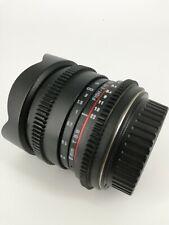 Samyang Aspherical T3.8 Fish Eye CS Lens
