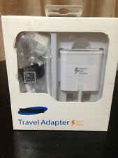 Fast Charger Compatible for Samsung S5/S6/S6 Edge/S7 Travel Adapter & USB Cable
