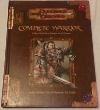 Dungeons & Dragons Complete Warrior A Player's Guide to Combat for All Classes