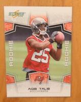 Aqib Talib 2008 Score Rookie Card RC #345