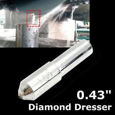 Tapered Tip Diamond Dresser Shaping Pen For Grinding Wheel 0.43'' Dia. 1Ct