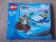 LEGO - CITY ( SET 30227 - POLICE JETSKI & CROOK ESCAPE ) BRAND NEW
