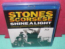 SHINE A LIGHT - STONES - SCORSESE  -  BLU-RAY -NUEVA