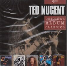Ted Nugent/Cat Scratch Fever-Free-For-All - Scream Dream et al. (5 CD, neuf dans sa boîte!)