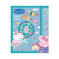 Peppa Pig Busy Pack Childrens Activity Stickers Stocking Filler Party Bag Gift