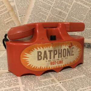 1970s BATMAN Phone Hot-line MARX Vintage