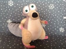 "ICE AGE LARGE SCRAT SOFT PLUSH TOY 12"" TALL BY PMS"