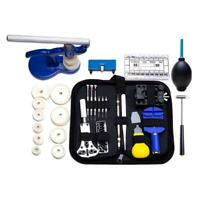 406pcs/set Professional Watch Case Opener Link Pin Remover Repair Tools Kit #KY