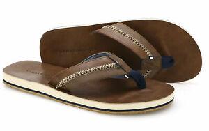 Tommy Hilfiger Herren Zehentrenner Sandale Strand Schuhe Größe 45,5