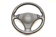 Audi S8 A8 D2 Multifunktionslenkrad Airbag Lenkrad Leder 4D0419091 4B0880201